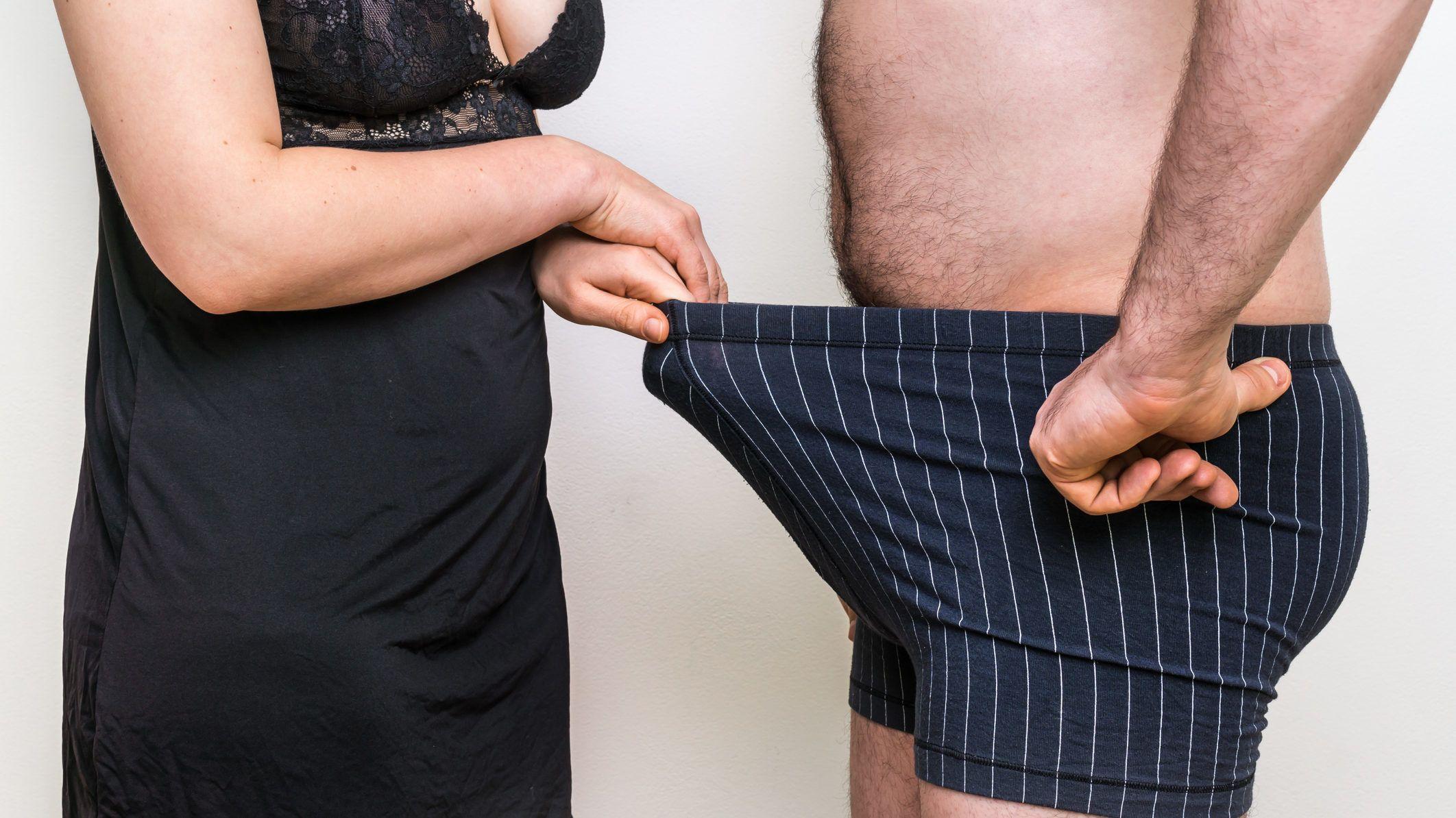 a pénisz nem nő a súly miatt