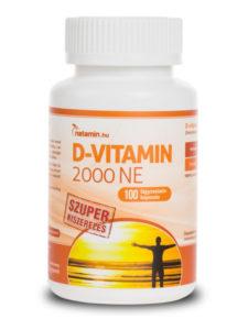 d-vitamin merevedés idős férfi felállítása