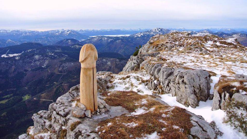 Ötscher: mi lett a pénisz alakú szoborból?