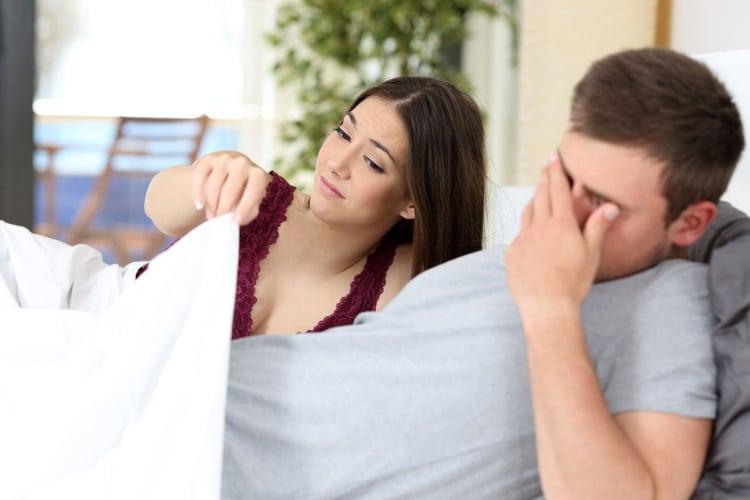 erekció férfiaknál és annak megsértése
