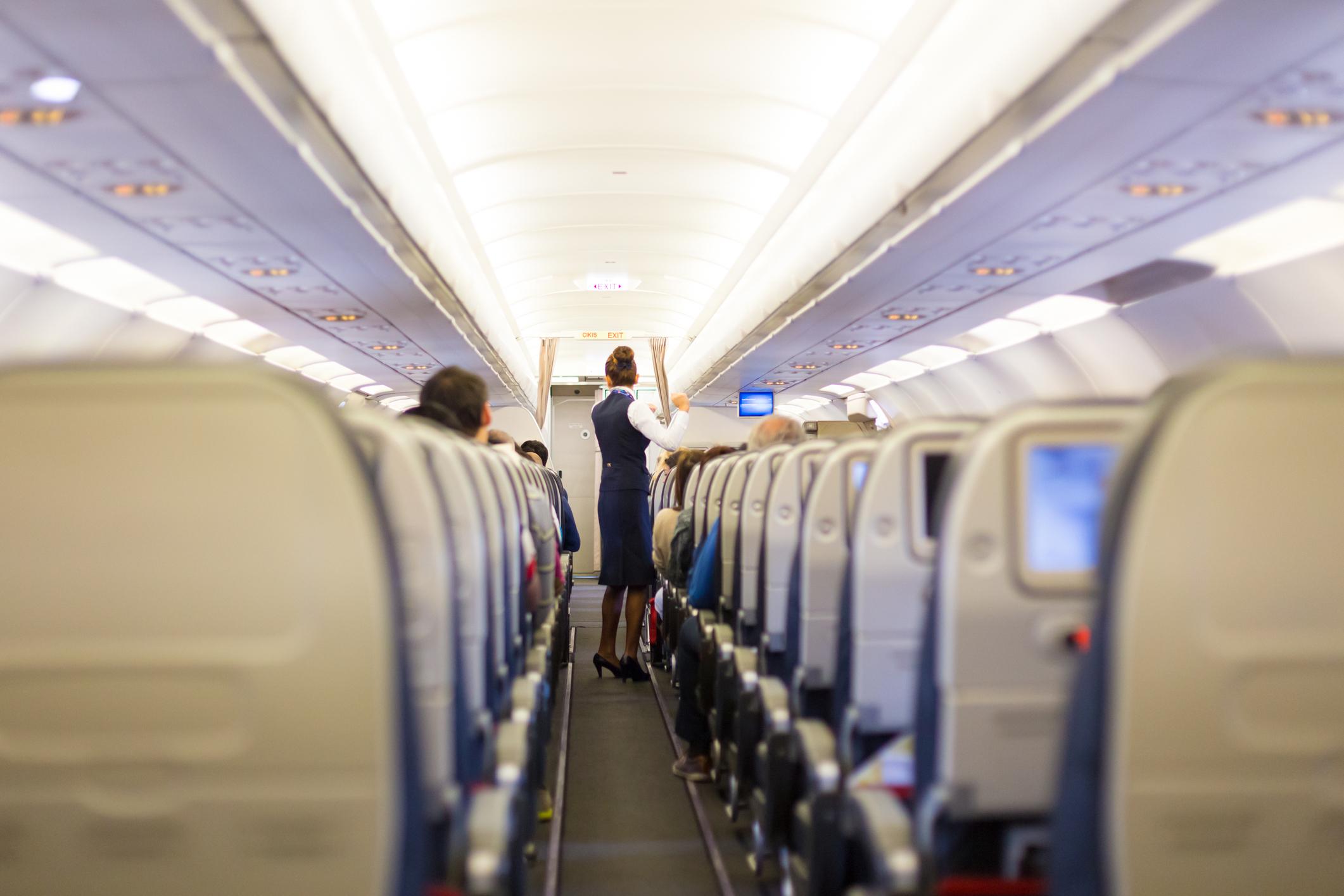 Beteg elme: a péniszét mutogatta az utasoknak egy férfi a repülőn