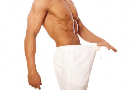 férfi mutatja a pénisz