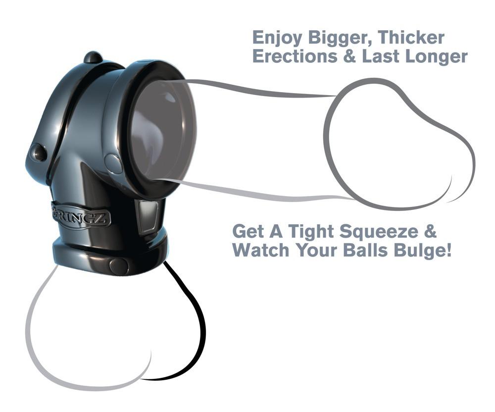 OVO B1 vibrációs péniszgyűrű, farokgyűrű vibrátor
