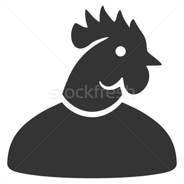 férfi kakas felálló fénykép