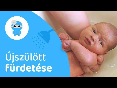 merevedés egy újszülött fiúban)